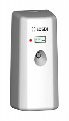 Chrome LCD 270ml Aerosol Dispenser