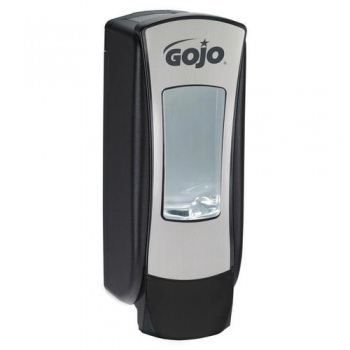 The Gojo ADX Dispenser black and chrome
