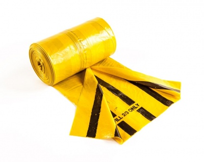 Yellow Clinical Waste Bags Landfill